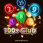 Join the 100+ Club Monthly Prize Draw
