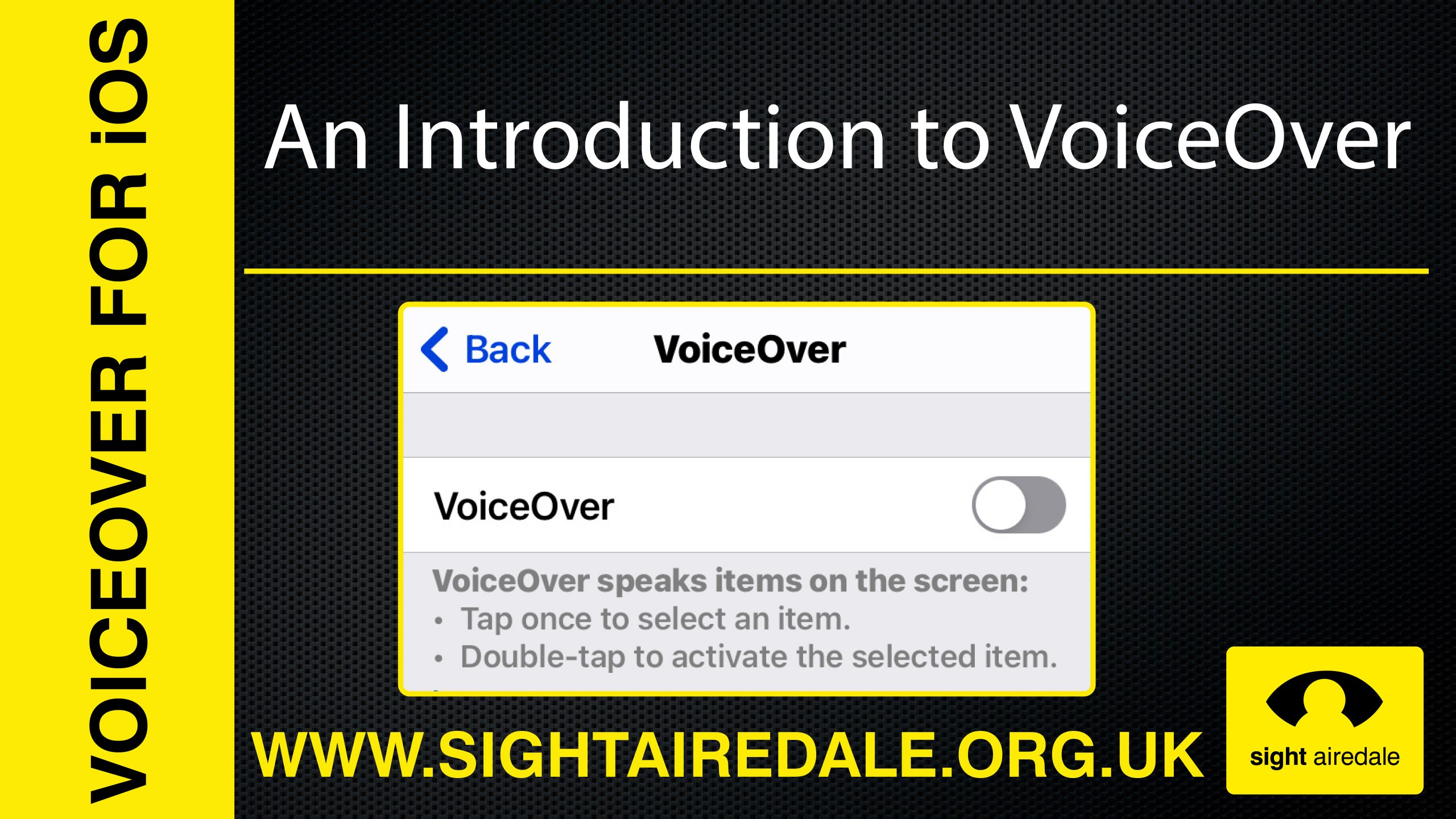 An introduction to voiceover